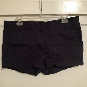 """Jcrew Chino 3"""" shorts- navy blue"""
